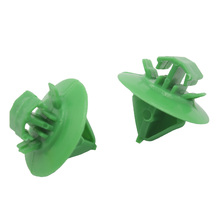 500x Exterior Door Mouldings Trim Retainers Rubbing Strip shed Clips Fasteners For Peugeot Citroen