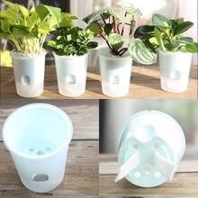 Присоска самополив цветочные горшки цветочный горшок горшки для растений автоматический домашний декор гидропоники