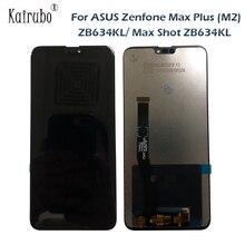 6.26 pollici Per Asus Zenfone Max Plus (M2) ZB634KL A CRISTALLI LIQUIDI Per Asus Zenfone Max Colpo zb634kl Display LCD di Tocco Digitale Dello Schermo