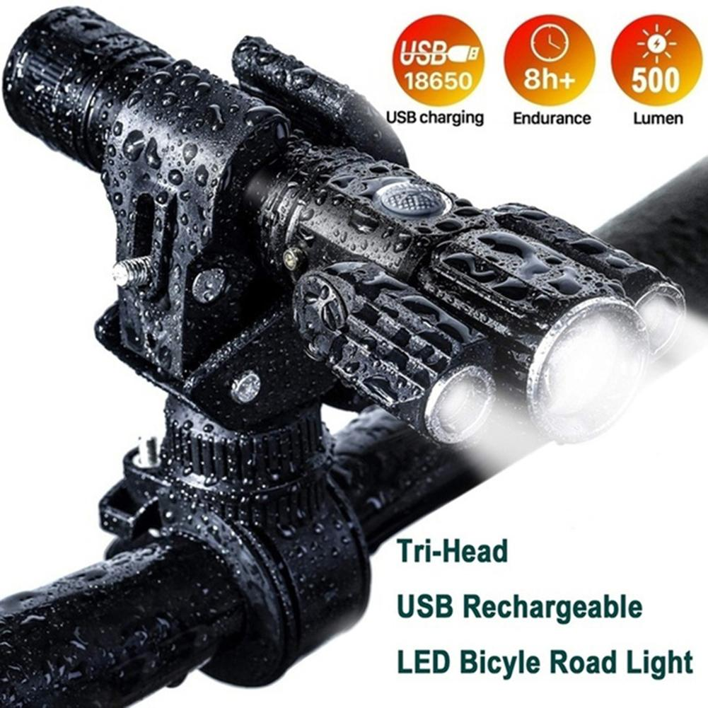 Tail Motorcycle Light LED Headlight For Motorcycle Bicycle Taillight Set High Power Super Bright Light Set