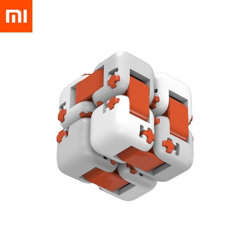 Original Xiaomi Mitu Finger Cube Brick Mi Building Block Spinner Intelligence Finger Toys Portable Smart Toys Gift for Kids
