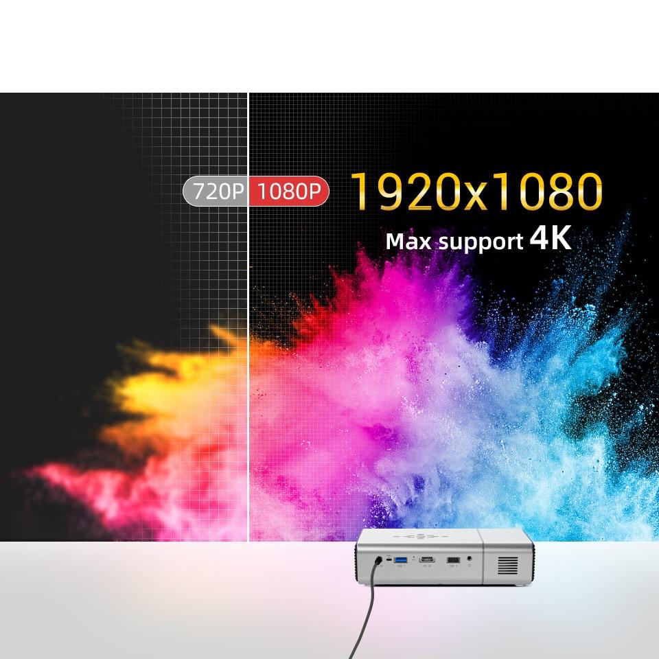 Byintek U50 Full HD 1080p mini 2k 3d 4k android Smart Wifi Projetor portátil laser Home Movie led dlp projetor beamer proyector-1