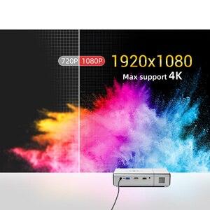 Image 2 - Byintek U50フルhd 1080pミニ2 18k 3D 4 18k androidスマート無線lanポータブルレーザーホームムービーled dlpプロジェクタービーマーproyector