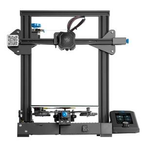 Image 4 - Carte mère 3D Ender 3 V2 avec pilotes pas à pas TMC2208 silencieux nouvelle interface utilisateur et 4.3 pouces couleur Lcd Carborundum lit en verre imprimante 3D