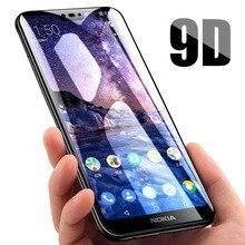 Protector de pantalla de vidrio templado para Nokia X6 X3 X5 X7 Nokia 5 6 7 8 1 2 3 vidrio Protector para Nokia 7 Plus Film