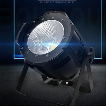 Super jasne LED światło punktowe Led etap 230V 220V AC 200W LED par COB ciepły zimny biały 2w1 led Spotlight oświetlenie dj tanie i dobre opinie THEBSE CN (pochodzenie) Efekt oświetlenia scenicznego Oświetlenie sceniczne DMX Other 100-COBpar 90-240 V Profesjonalne stage dj
