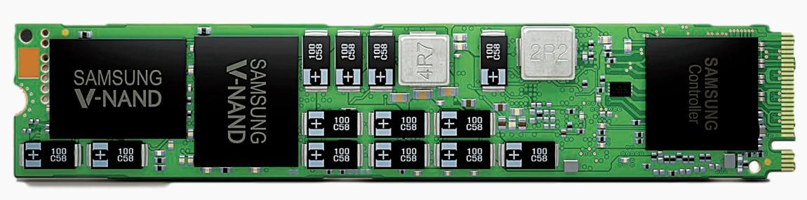 SM963 480 GB 22x110mm Solid State Hard Disk MZ1KW480HMHQ