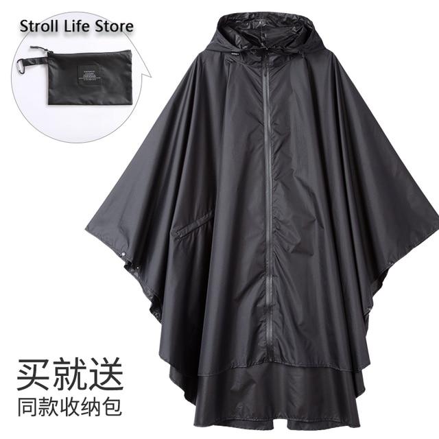 Large Size Trench Rain Coat Poncho Raincoat Women Yellow Rain Clothes Cover Travel Hiking Windproof Suit Gabardina Mujer Gift 4