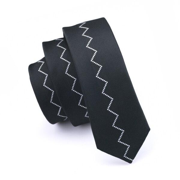 5,5 см Модный тонкий галстук золотого и оранжевого цветов, Шелковый жаккардовый галстук для мужчин, свадебные, вечерние, повседневные, Прямая поставка - Цвет: HH-257