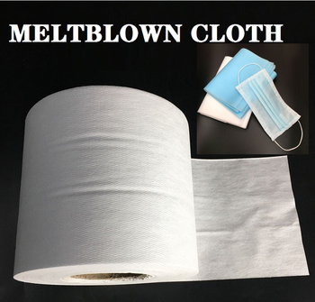 Medical mask fabric Disposable Meltblown Cloth Meltblown Nonwoven Mask Filter Fabric for Mask Filtering Layer Application