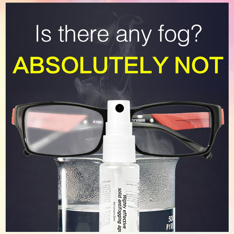 Antifog Glass Cleaning Spray Anti-Fog Glasses Cleanup Spray Antifogging Spray Glass Cleaning Tool