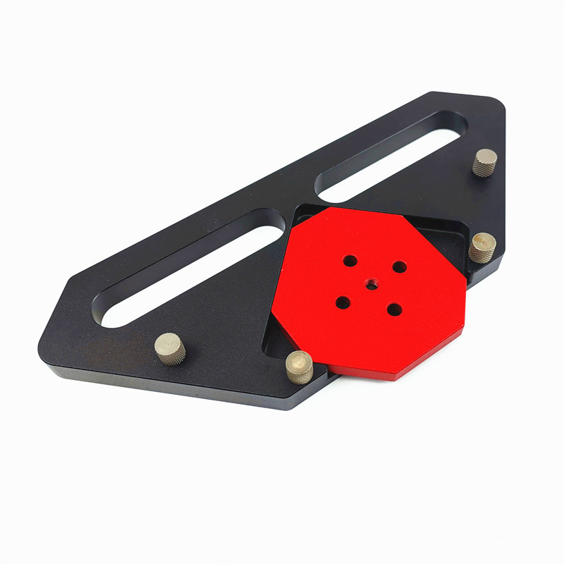 4 in 1 Wood Panel Radius Quick-Jig Router Table Bits Jig Corner Templates Kit R15-R30 C15-C30 (Corner Templates Kit)