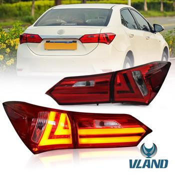 Vland factory car tail light for Corolla tail lamp 2014 2015 2016 2017 2018 2019 LED rear light