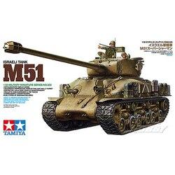 1:35 Kit d'assemblage de modèle de réservoir à l'échelle US moyen réservoir M4A3 Sherman 75mm pistolet Version tardive modèle de construction Tamiya 35025