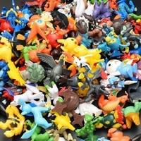 144Pcs Styles Pokemon toys Figures Model Collection 2-3cm Pokemon Pikachu Anime Figure Toys Dolls Child Christmas Halloween Gift 5