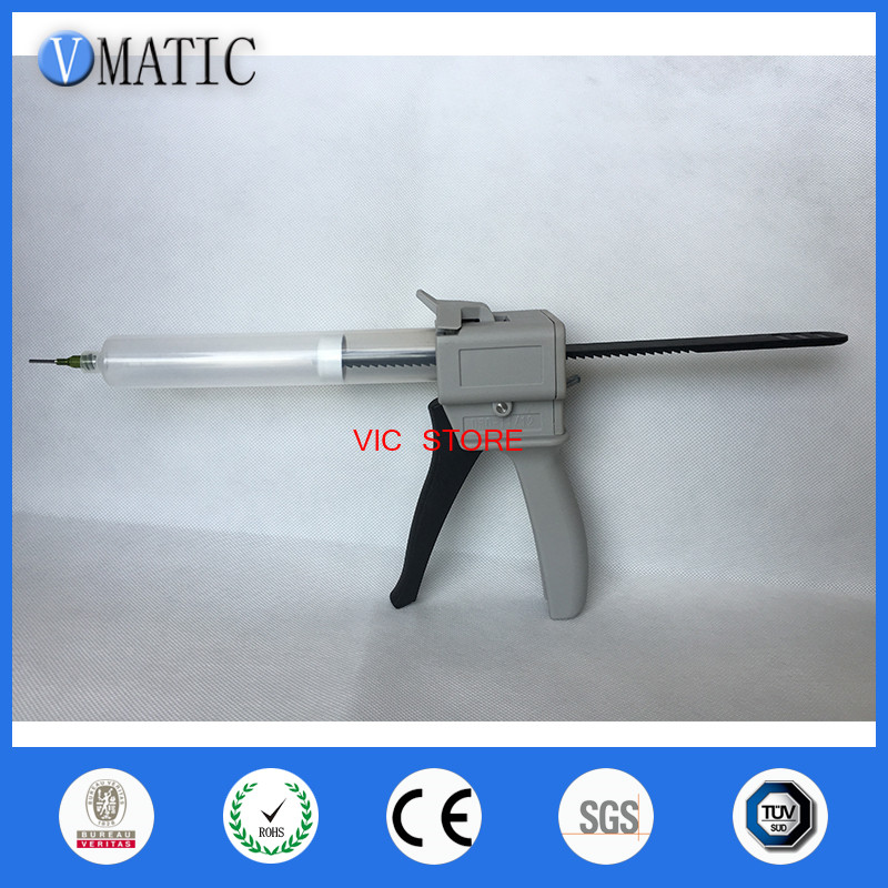 Free Shipping 1Pc Manual Cartridge Hand Grip Dispenser Glue Caulking Gun 55cc/ml