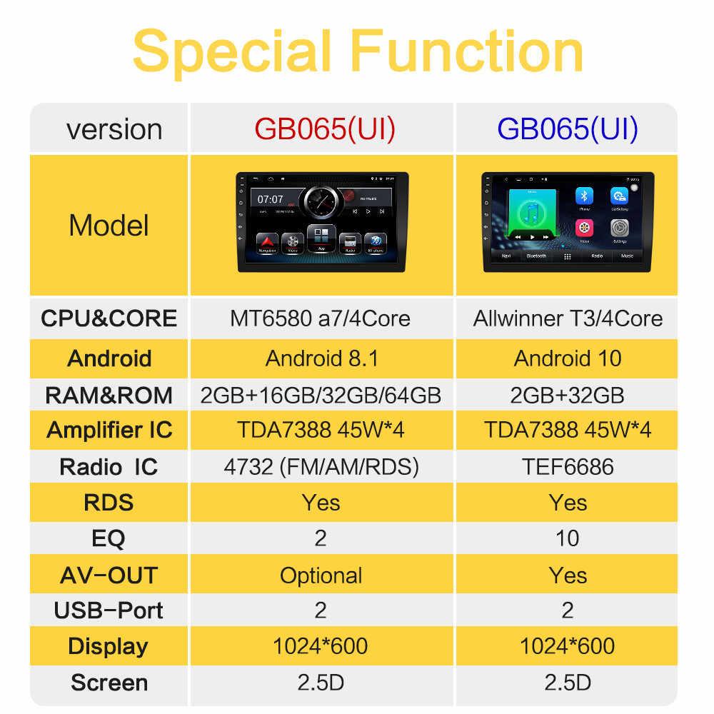 Reproductor de Radio para coche Android 10 8,1 para Jeep Renegade 2016 2017 2018 2019, cámara AHD 9 '', navegación GPS, reproductor Multimedia para coche HD