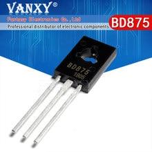 10PCS BD875 PARA-126 BD 875 TO126 NPN planar transistor Darlington novo original