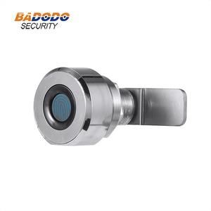 Image 4 - Zinc alloy Keyless Mini Fingerprint cabinet lock biometric electric lock 20 USERS for cabinet drawer strongbox