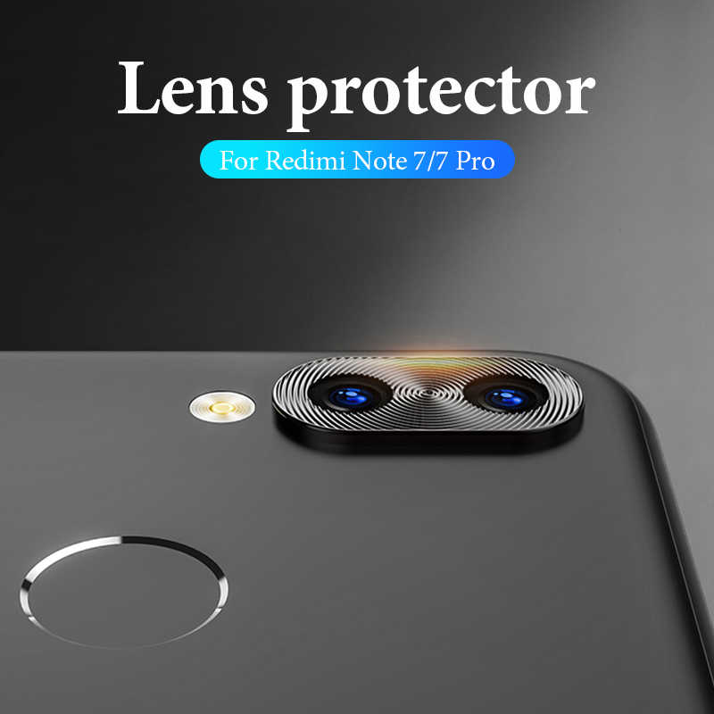 Camera Lens Protector Case For Xiaomi Redmi Note 7 K20 Pro 7 Mi 9 8 SE Mi 9t Mix3 Metal Phone Cover Camera Lens Protective Ring