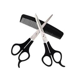 3 Pcs/set Stainless Steel Hair Scissors Cutting Shears Salon Professional Barber Hair Cutting Thinning Shears Hair Styling Tool