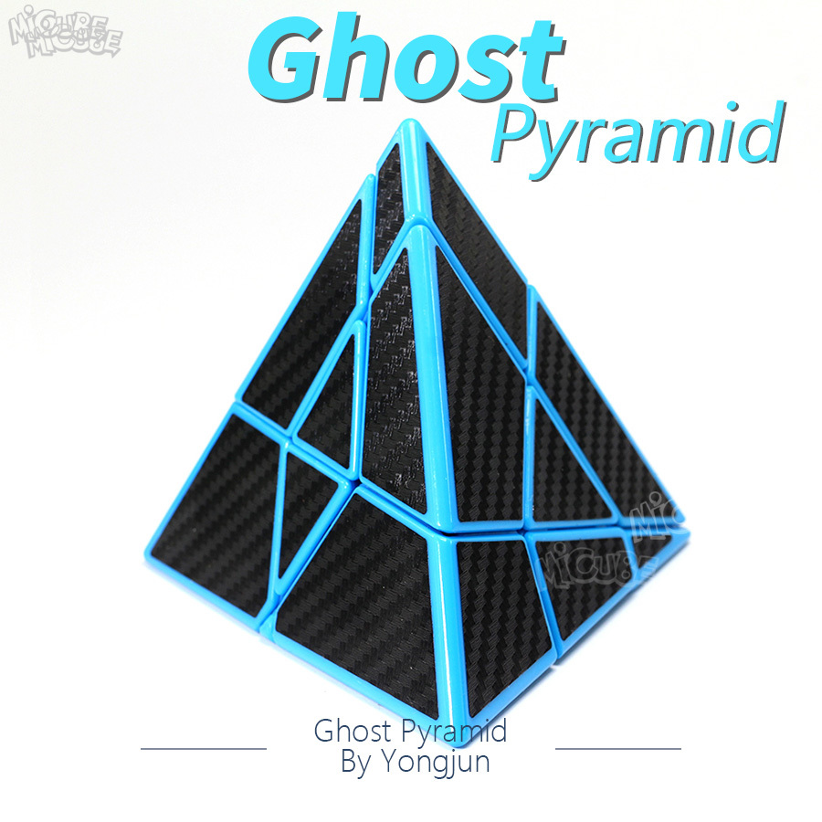 Lefun Ghost Pyramid Cube Ghostpyramid Magic Speed Puzzle Carbon Fiber Professional Educational Toys For Children Cubo Magico
