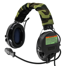 Tactical electronic Sordin Headphones Pickup noise reduction Headphone Airsoft Military Tactical Shooting Headset Softair BK