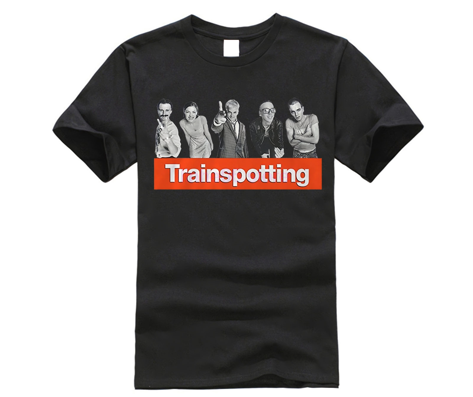 Fashion T Shirts Trainspotting Vintage Movie T Shirts Family Brand Short Sleeve Boyfriend's T Shirts
