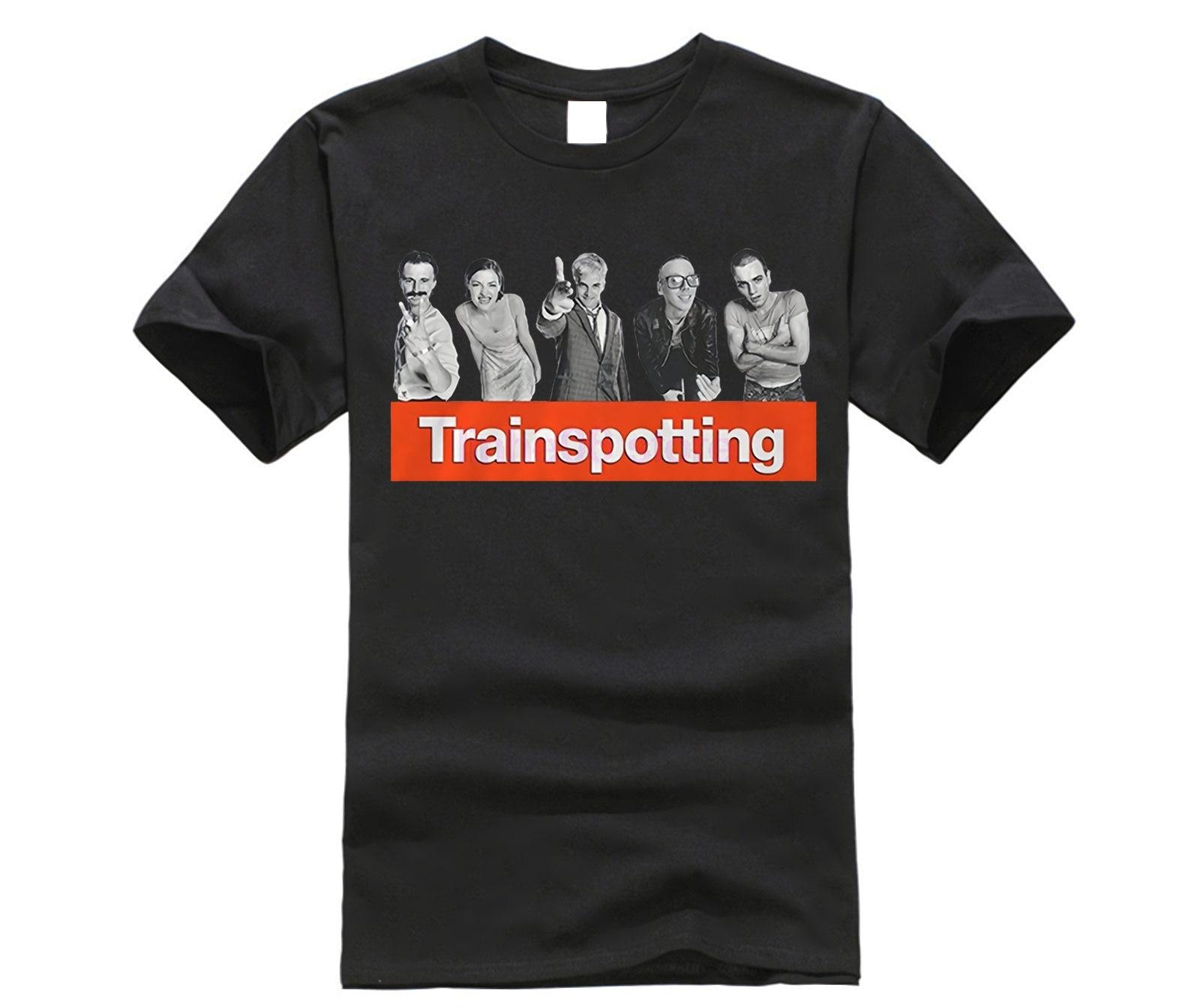 Fashion T Shirts Trainspotting Vintage Movie T Shirts Family Brand Short Sleeve Boyfriend's T Shirts