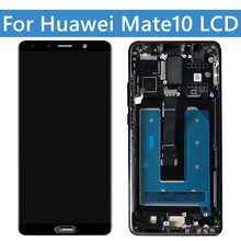 ORIGINAL For Huawei Mate10 LCD ALP-AL00 AL09 L29 LCD Display Touch Screen Digitizer Assembly For Mate 10 Replacement Parts