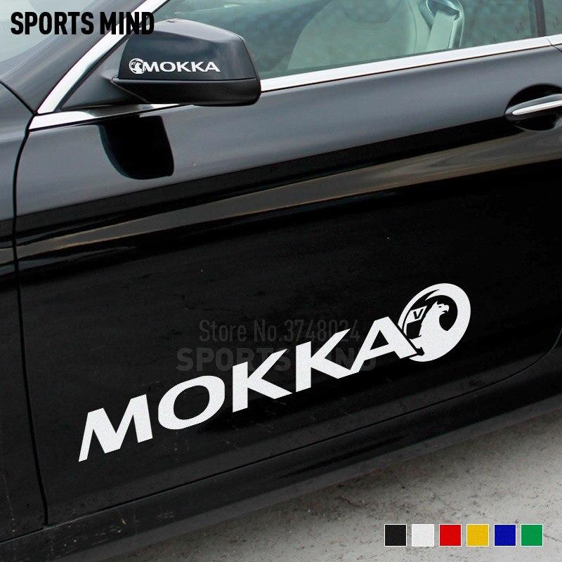 Vinyl Wall Art Sticker Vauxhall Mokka X