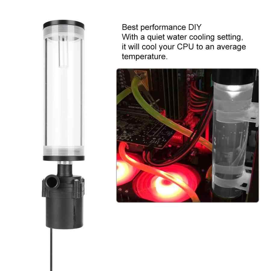 CPU 冷却シリンダーポンプシステム漏れ防止絶縁水冷却タンクコンピュータ PC