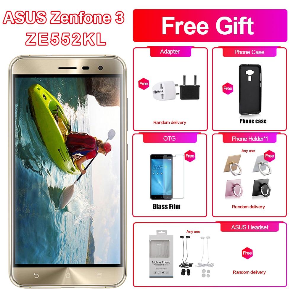 Brand New Asus Zenfone 3 ZE552KL 4G LTE 4GB RAM 64/128GB ROM Mobile Phone 5.5