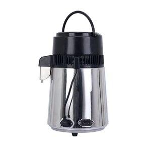 Image 2 - 4L ホーム純水蒸留器機械蒸留水蒸留浄水器フィルターステンレス鋼ガラス瓶カーボンフィルター家族