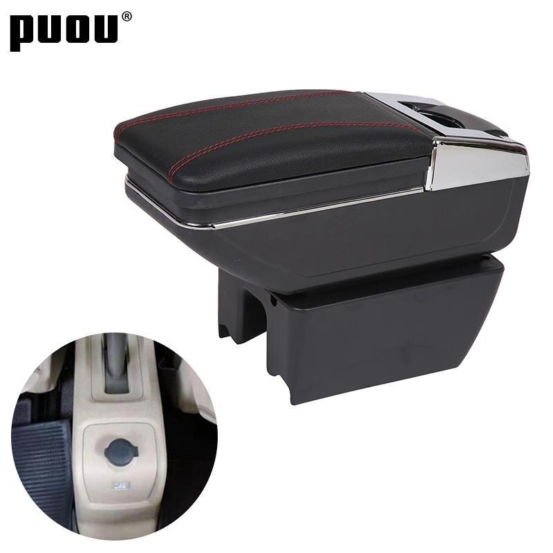Armrest-Box Car-Center-Console-Accessories Universal Suzuki for Ertiga Raised with USB