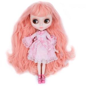 Image 2 - NEO Blyth ตุ๊กตาที่กำหนดเอง NBL SHINY Face,1/6 OB24 BJD Ball Jointed ตุ๊กตา CUSTOM Blyth ตุ๊กตาสำหรับสาว,ของขวัญสำหรับคอลเลกชัน FHYM