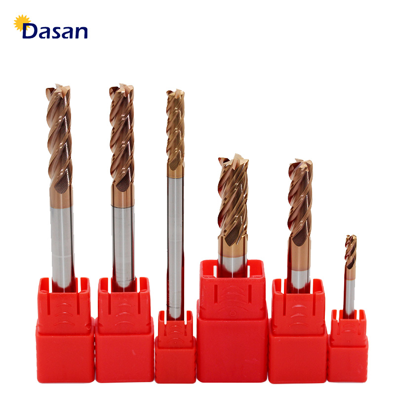 1pcs End Mill Aluminum Cutter Alloy Coating Tungsten Steel Tool 3 Blade Extra Long Milling Cutter Woodding Cutter Tool in Milling Cutter from Tools