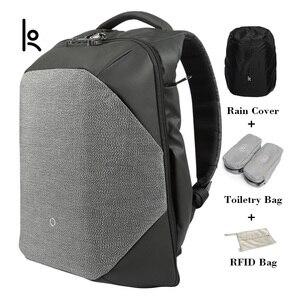 Image 1 - Korin Design le ClickPack Pro Anti coupure Anti vol sac à dos pour ordinateur portable pour homme 15.6 pouces sacs décole pour garçons