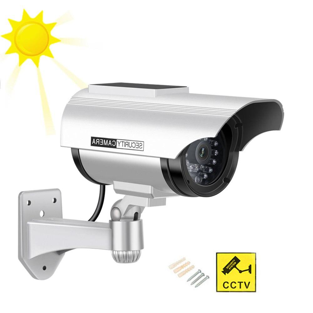 Cámara de Seguridad Ficticia Sistema de Seguridad Vigilancia Exterior Interior