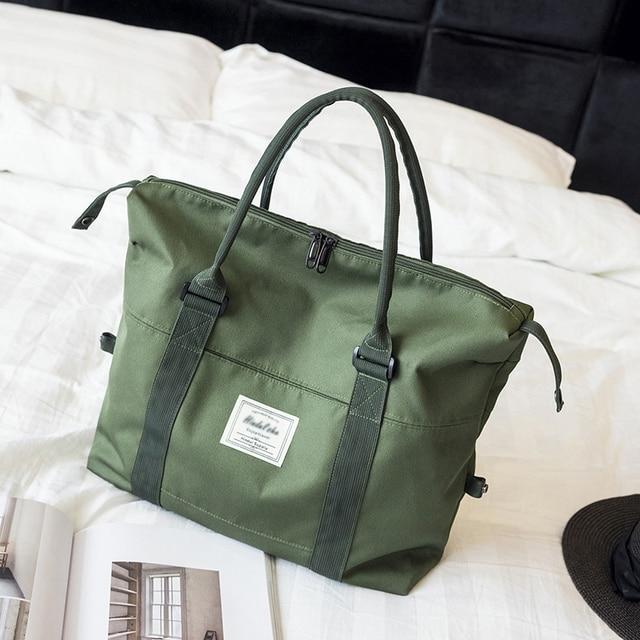Женские дорожные сумки из ткани