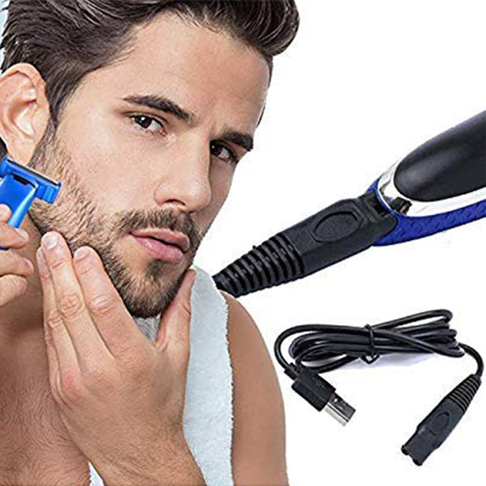 Replacement Charger And Brush For Electric Solo Shaver Cleaning Bursh USB Data Cable Power Trimmer Solo Micro Touches Replacemen