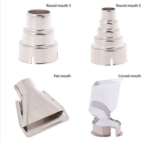 Hot Nozzles Electric Kit Heat Air Guns Nozzles Hot Air Gun Accessories Shrink Wrap