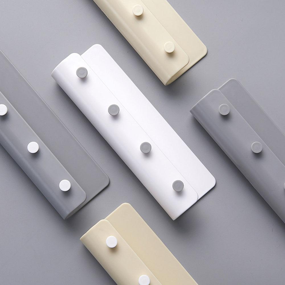 Wall-mounted Hanging U-shaped Storage Holder For Key Organized Keys Storage Rack 4 Decor Gloves Hook Rack Hanger Shelf S2G8