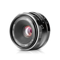 Meike 25mm f1.8 Large Aperture Wide Angle Lens Manual for Canon EOS M1 M2 M3 M5 M6 M10 M50 M100 EF M mount Cameras+Free Gift