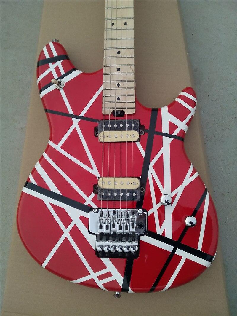 Новое поступление гитары kramer красная и белая серия ARI tremolo электрическая гитара Бесплатная доставка