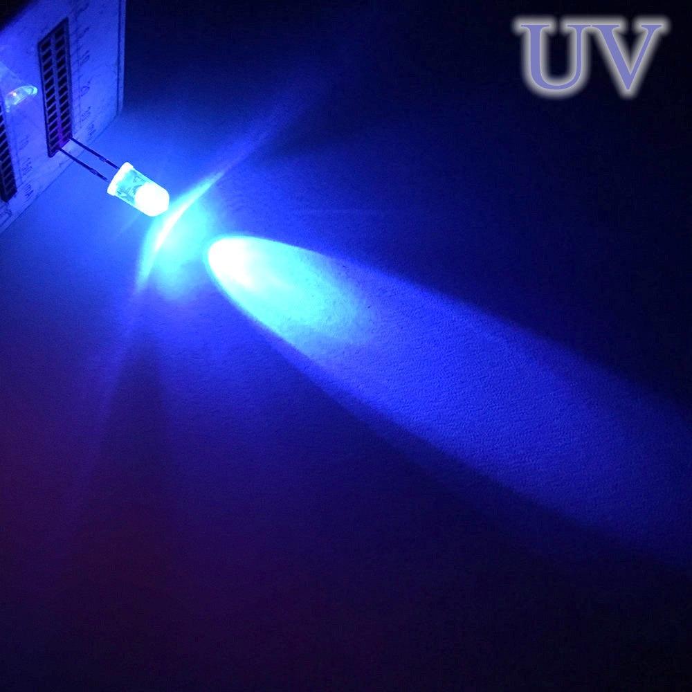 20X F5 5 мм круглый белый, красный, зеленый, синий, желтый, розовый прозрачный Диод Led супер яркий светодиод 6000-6500k лампа - Испускаемый цвет: Фиолетовый