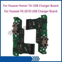 Плата зарядного устройства для huawei honor 7a с usb разъемом