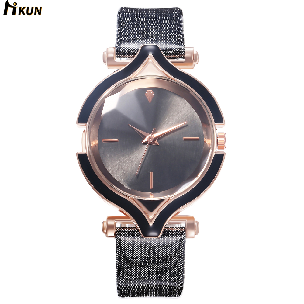 Luxury Brand Leather Dress Watch Fashion Quartz Watch Women Ladies Bracelet Watches Casual Clock Female Gift Relogio Reloj Mujer