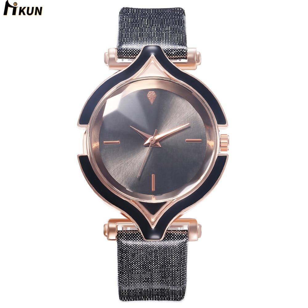 Luxury Brand Leather Dress Watch Fashion Quartz Watch Women Ladies Bracelet Watches Casual Clock Female Gift Relogio Reloj Mujer