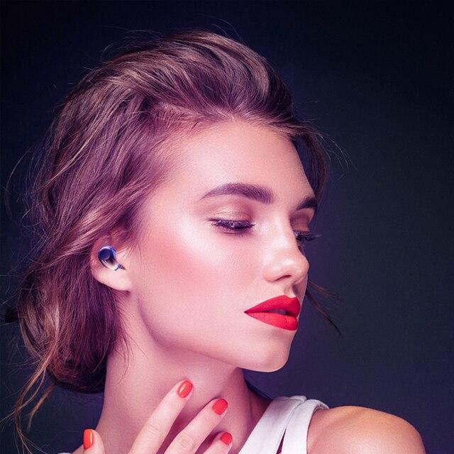 Wireless Earphones TWS Bluetooth 5.0 Mini Earbuds Stereo Bass LED Power Display Noise Cancelling Sports Waterproof Earbud In Ear 5